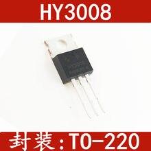 10 sztuk HY3008 HY3008P hermetyzuje TO-220, 80 a / 100 v pojazdy elektryczne dedykowany kontroler w magazynie 100% nowe i oryginalne