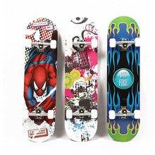 Напрямую от производителя продажи стиль четыре колеса скейтборда креативные красочные single Rocker скейтборд подростковые шоссе кисть S
