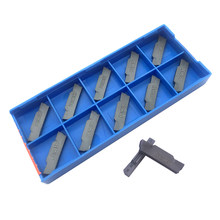 MGMN200 G PC9030 10pcs Grooving Carbide Inserts Lathe Cutter Turning Tool Parting and Grooving Tool Parting Off CNC Tool amw(China)