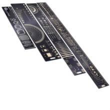 4cm 15cm 20cm 25cm 30cm multifuncional pcb régua ferramenta de medição resistor capacitor chip ic smd diodo transistor pacote