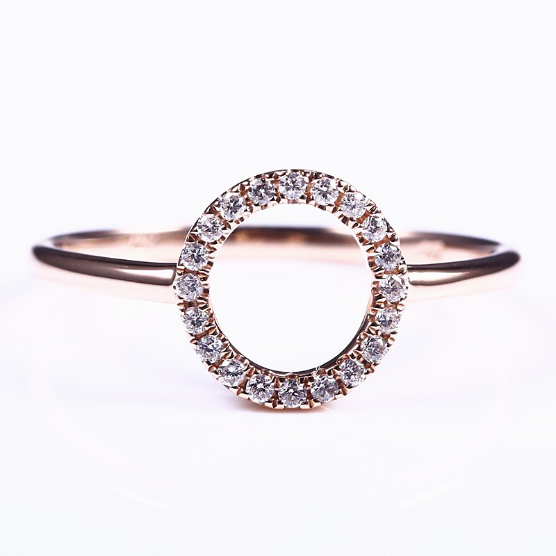Bague de fiançailles en argent Sterling 925 pour femmes avec zircon cubique (CZ), bague d'anniversaire, bijoux fins