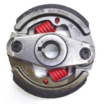 2 tiempos 43cc 47cc 49cc estanterías de dos tiempos pesado Mini embrague de motocicleta Pad motor bolsillo Dirt Bike ATV Quad crossser 2 muelles