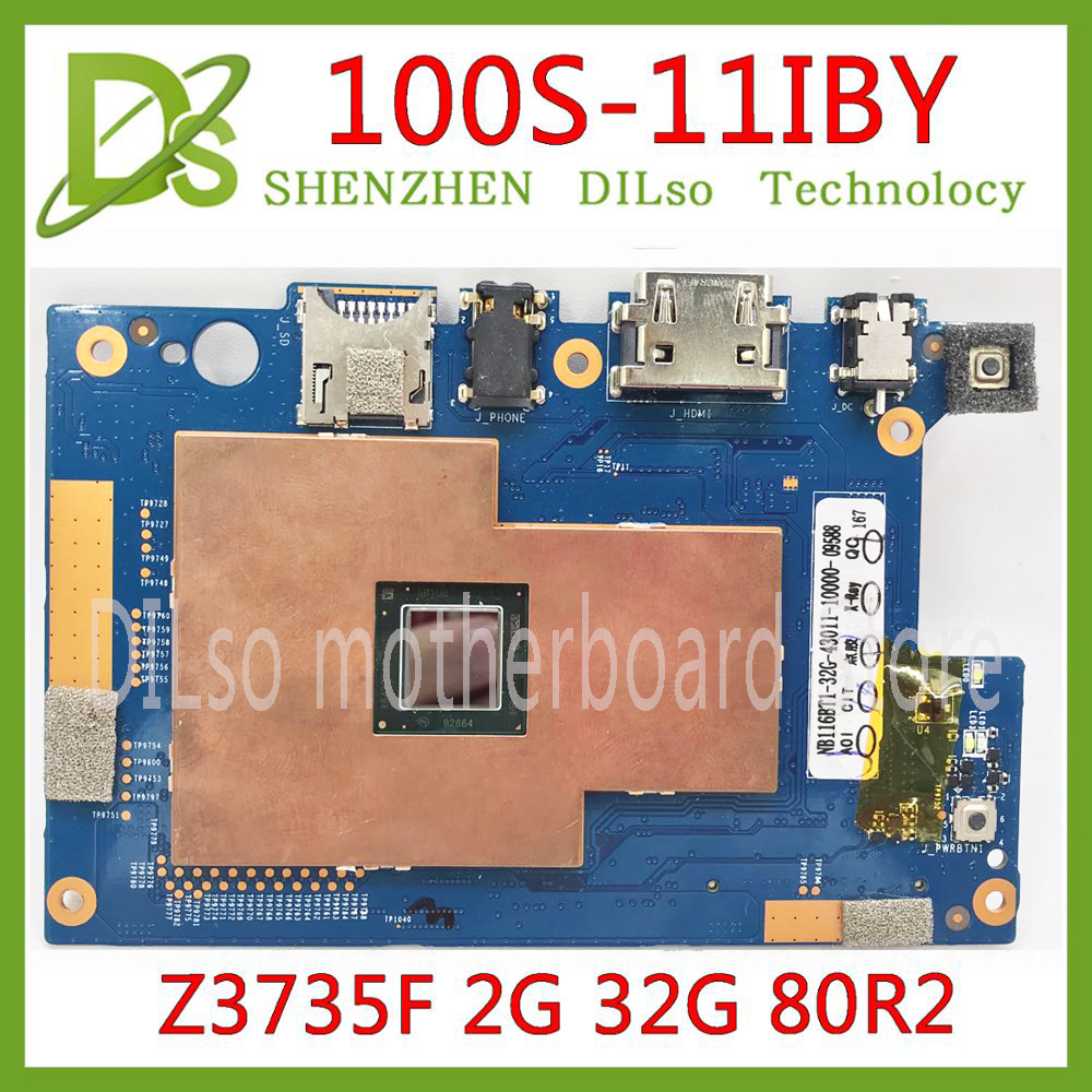 KEFU 100S-11IBY Mainboard For Lenovo Thinkpad 100S-11IBY Laptop Motherboard CPU Z3735F RAM 2G 32G Test Work 100% Original