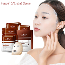 Fonce Repair Type Anti Wrinkle Silk Facial Mask Moisturizing Lifting Firming Face Six Peptides Anti Aging  Sheet Mask 10 Piece