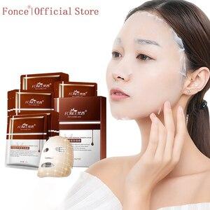 Image 1 - Fonce Repair Type Anti Wrinkle Silk Facial Mask Moisturizing Lifting Firming Face Six Peptides Anti Aging  Sheet Mask 10 Piece