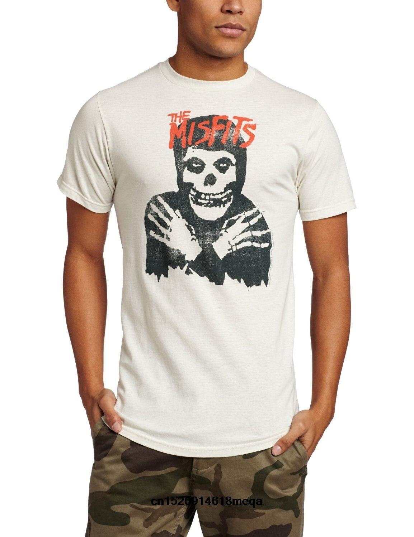t shirt Merchandising Men's Misfits Classic Skull T-Shirt