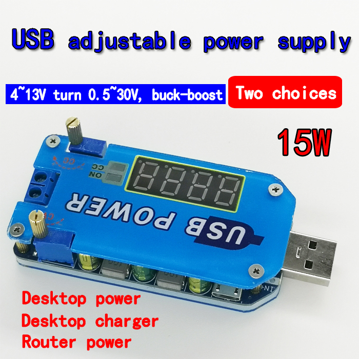 DC-DC Buck Step Down Voltage Regulator Module 3.3v 5v 12v 24V 0-5A Adjustable