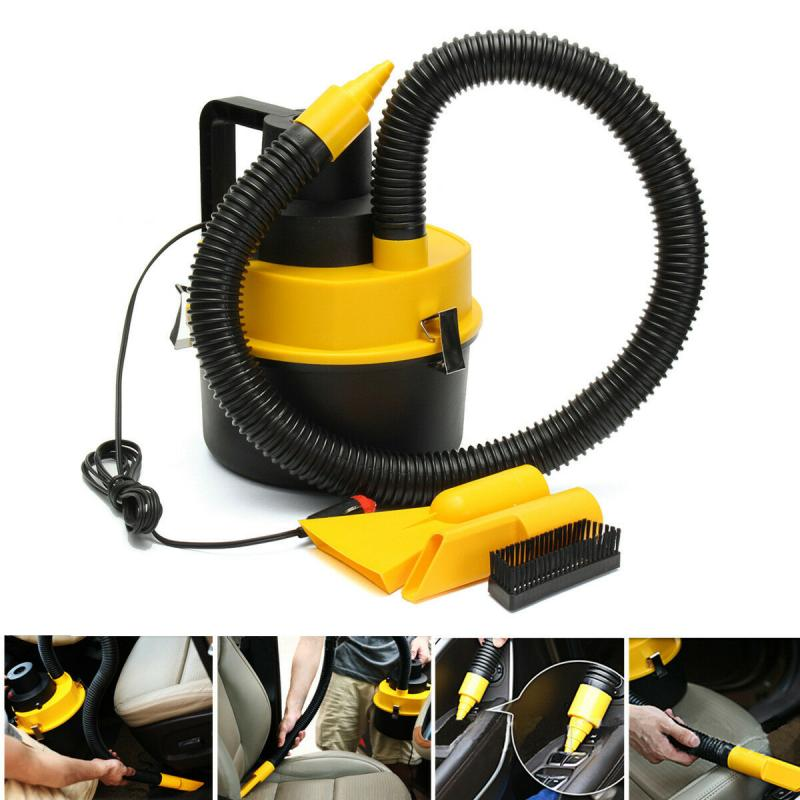 Universal Vacuum Cleaner Portable 12V Wet Dry Vac Vacuum Cleaner Inflator Turbo Hand Held Fits For Car Or Shop Car Accessories|Vacuum Cleaner| |  - title=