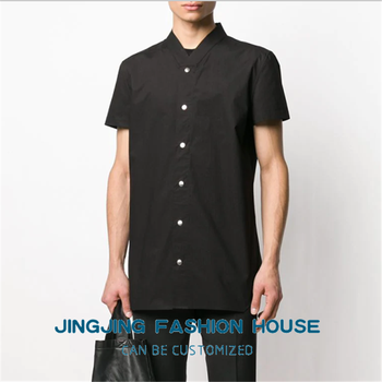 S-6XL!!New style men slim short-sleeved shirt men fashion handsome youth shirt spring and summer top