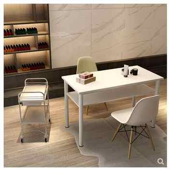 Japanese ins Simple Manicure Table and Chair Set Table Specials Single and Double Modern Manicure Table Economy Makeup Table