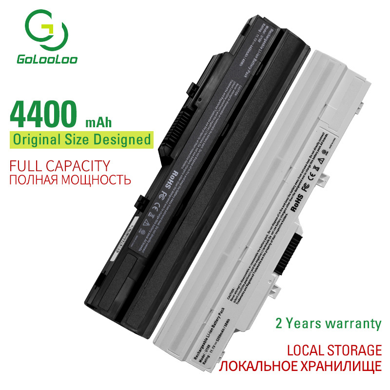 Golooloo 6Cell New laptop battery for MSI U100W-085NL U100X Wind MS-N011 Wind U100 U100X U90 U90X BTY-S11 BTY-S12 TX2-RTL8187SE(China)