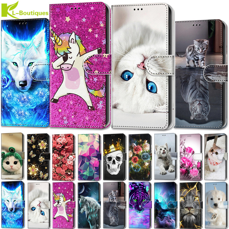 For Alcatel 1 5033D Case Protect Stand Leather Flip Cover For Alcatel 1 5033 D 5033X 5033Y 5033A Cases Mobile Phone Wallet Capa(China)