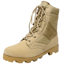 winter boots men army Khaki desert military tactical mens with zipper MB23  genuine leather shoes