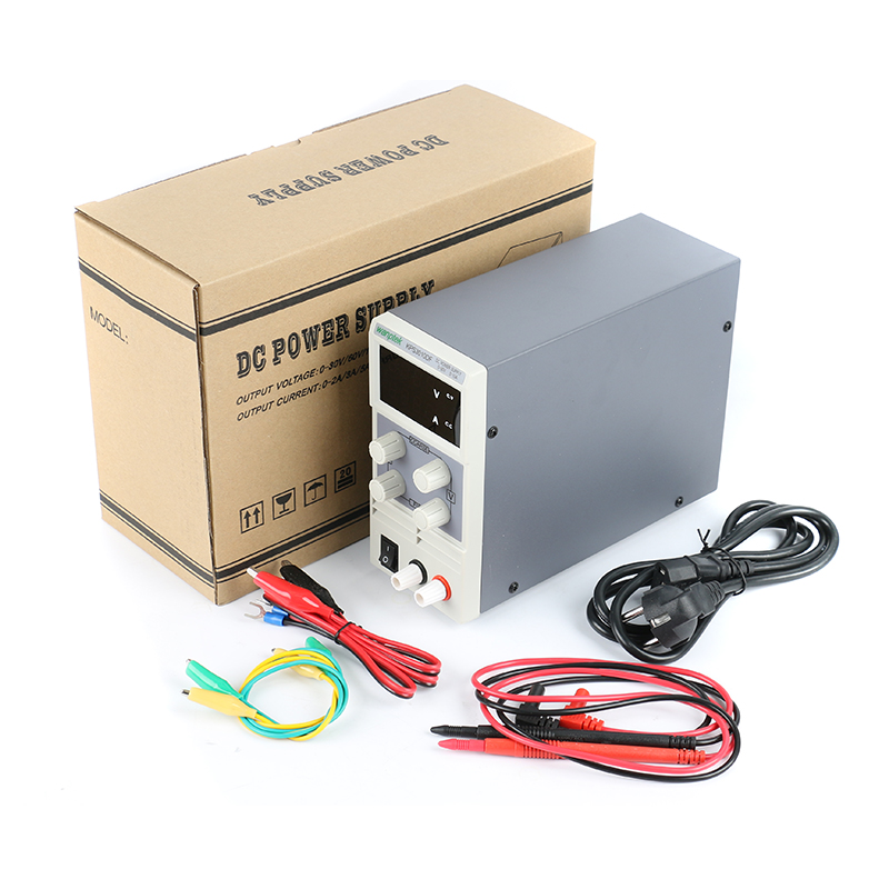 KPS3010D Mini LED Digital Adjustable DC Power Supply 0~30V 0~10A Switching Power Supply 0.1V/0.01A For Phone Repair