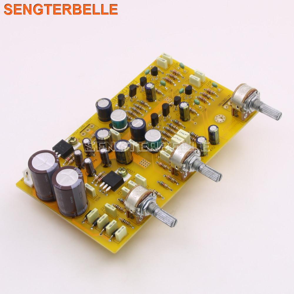 New Fully Separation HIFI Tone Preamp Kit Base On UK NAD Preamplifier Board