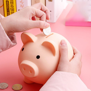 Small Piggy Bank Money Boxes Storage Kids Toys Home Decor Money Saving Box Children Piggy Money Bank