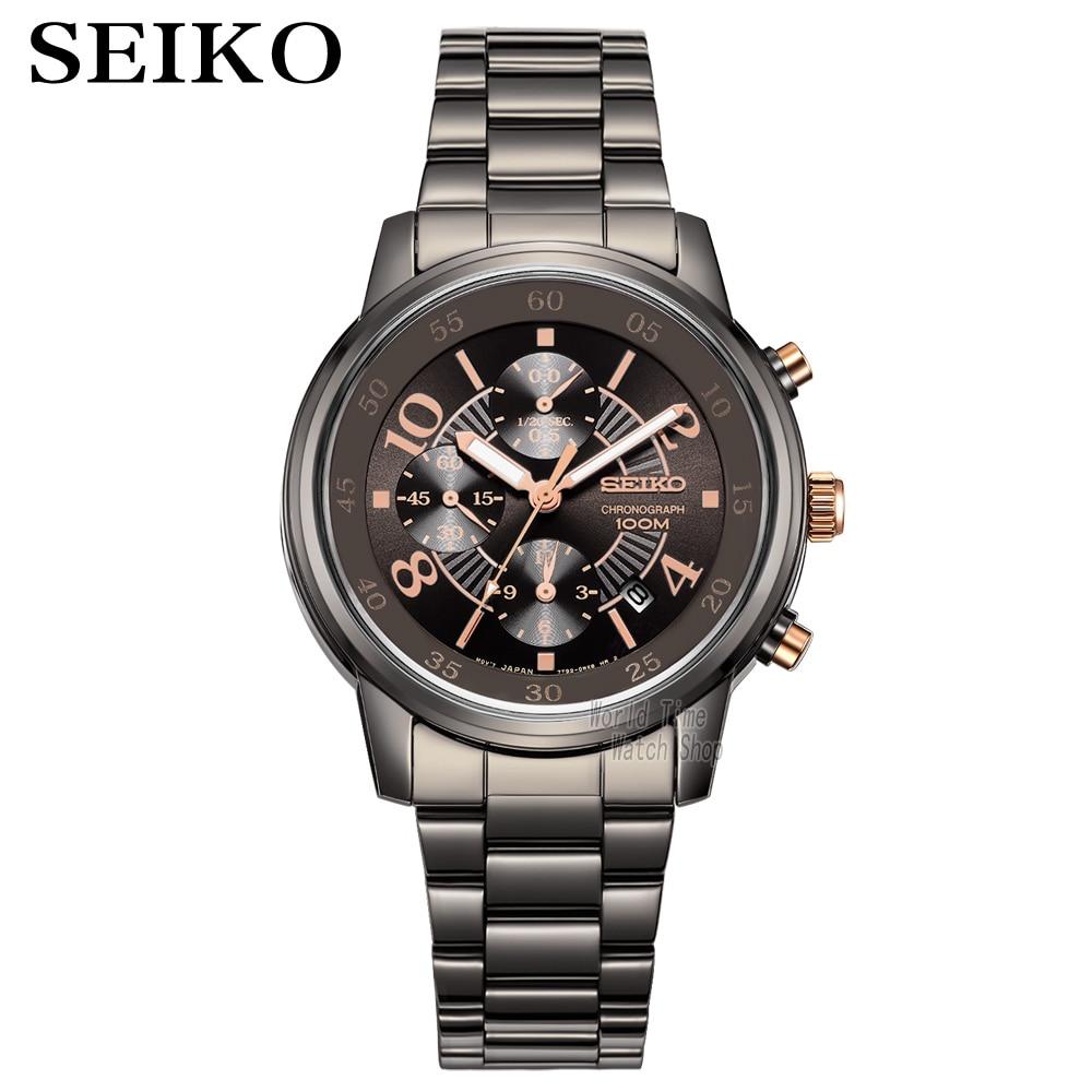 seiko watch men Luxury Brand Waterproof Sport Wrist Watch watch Chronograph quartz watches Mens Watches Relogio Masculino