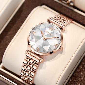 OLEVS Brand Watch  Fashion Hot Sale Women's Watch Waterproof Women's Watch Quartz Watch 3