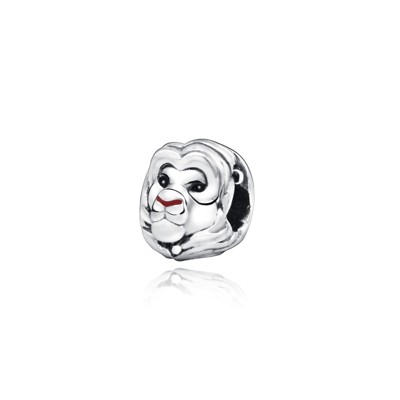 2019 New Arrival 925 Beads The Lion King Simba Charms fit Original Pandora Bracelets Women DIY Jewelry image
