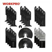 Workpro 23Pc Zaagbladen Multi Tool Oscillerende Zaagbladen Voor Dremel Bosch Milwaukee Quick Release Zaagbladen Voor Metaal/Hout
