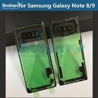 Para samsung note8 note9 caixa de bateria transparente para nota 8 nota 10 mais nota 10 nota 9 n960f caso capa traseira bateria porta