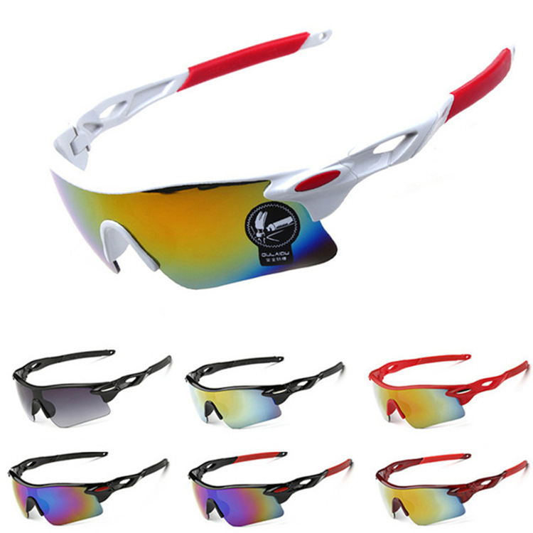 Riding Mercury Glasses Bicycle Glass Sports Tactical Colorful Glasses Explosion-Proof Eye-protection Goggles Outdoor Equipment