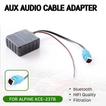 Adaptador de Cable receptor Aux bluetooth con micrófono para KCE-237B, interfaz de...