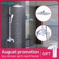 Micoe Ванная комната набор для душа кран ванна Ванная комната смеситель для душа набор Водопад ванна раковина кран холодной и горячей воды сме...