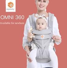 Portabebés Omni 360 con todas las posiciones, malla de aire fresco, algodón, cuatro estaciones, para Padres