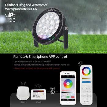 Miboxer FUTC02 9W RGB+CCT Smart LED Garden Light IP65 Waterproof AC100~240V led Outdoor lamp 110V 220V Garden Lighting
