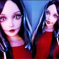 KnowU Kigurumi Permanent Makeup Anime FemaleMask Crossdresser Cosplay Crossplay Resin Headgear BJD