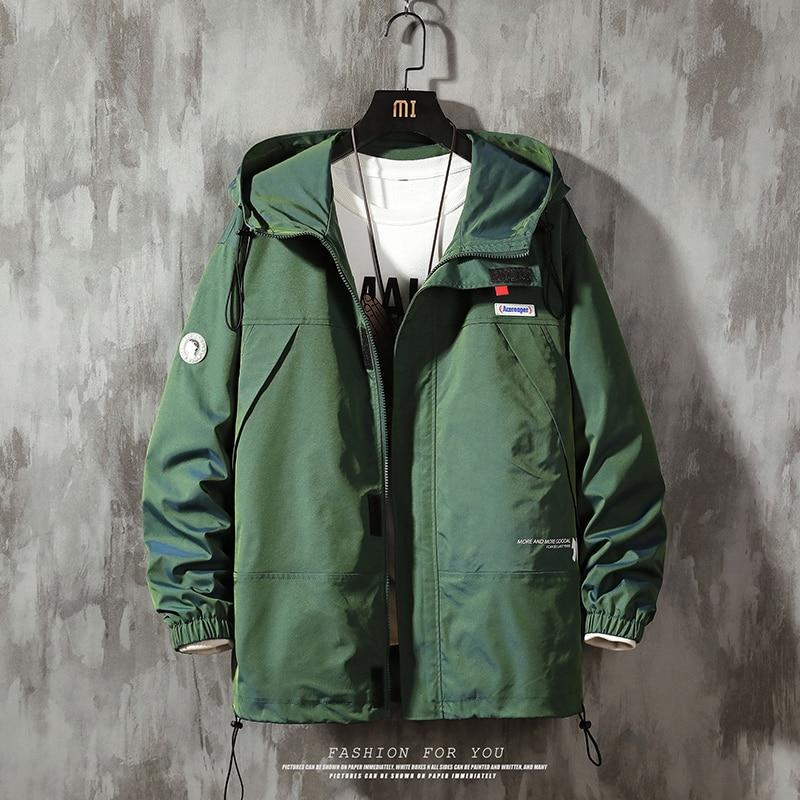 Bomber Jackets Men 2020 Streetwear Windbreaker Korean Casual Autumn Spring Baseball Jackets Coats