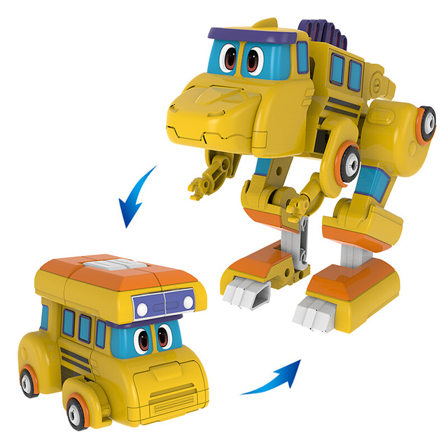 2020 Big Gogo Dino ABS Deformation Car/Airplane With Sound Action Figures Transformation Dinosaur toys for Kids