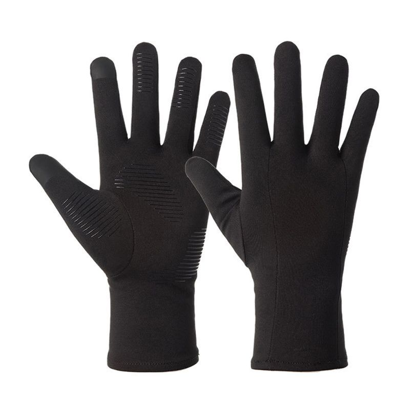High Quality Winter Gloves Screen Windproof Thermal Liner Gloves Running Outdoor Cycling Driving Thin Gloves For Men Women
