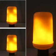 Desktop Flame Light LED Flame Bulb for Family Restaurant Hotel Bar Cafe Party Decoration led Flame Light Dynamic Flame Light