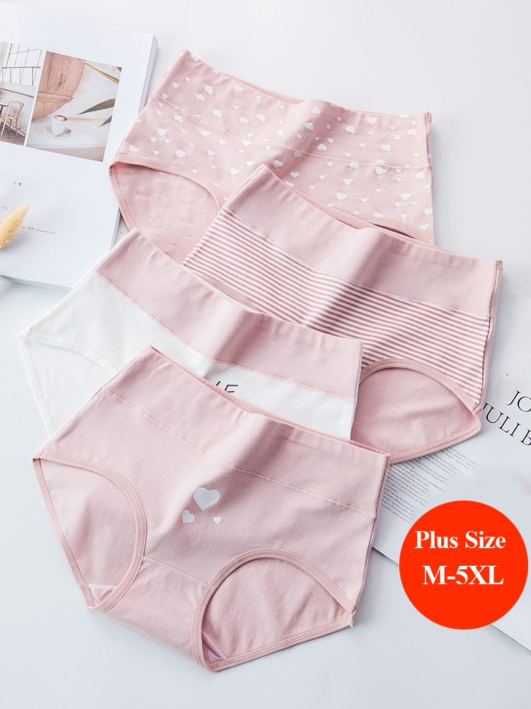 LANGSHA Underwear Girls Lingerie Briefs Panties Women Seamless Sexy Female High-Waist