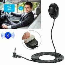 1шт автомобиля черный микрофон Bluetooth микрофон 50 Гц-20 кГц подходит для моделей Sony в тире автомобиля Радио стерео GPS DVD портативных 3.5 мм