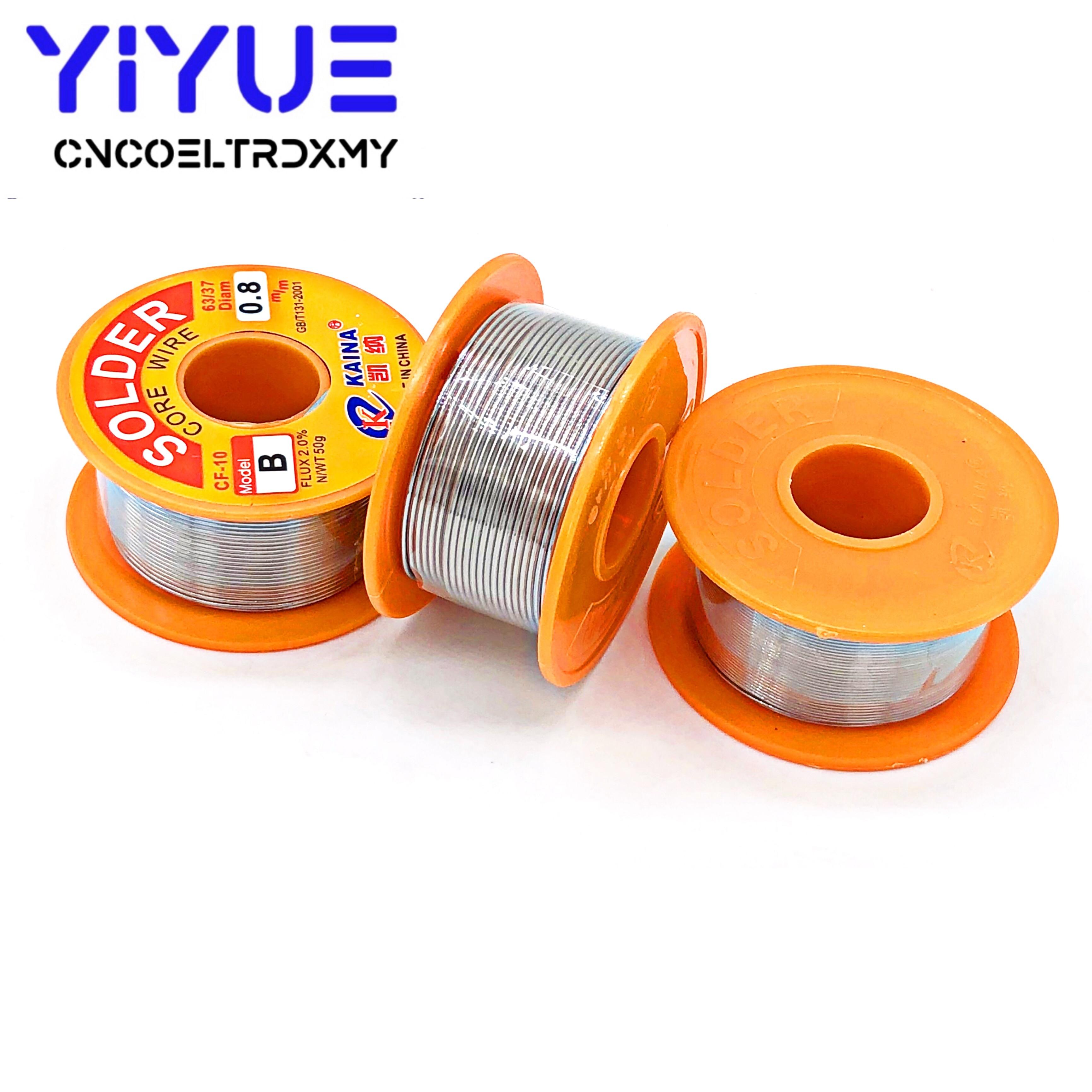 1mm Rosin Core Solder 63//37 Tin Lead Line Flux Welding Iron Wire Reel pK