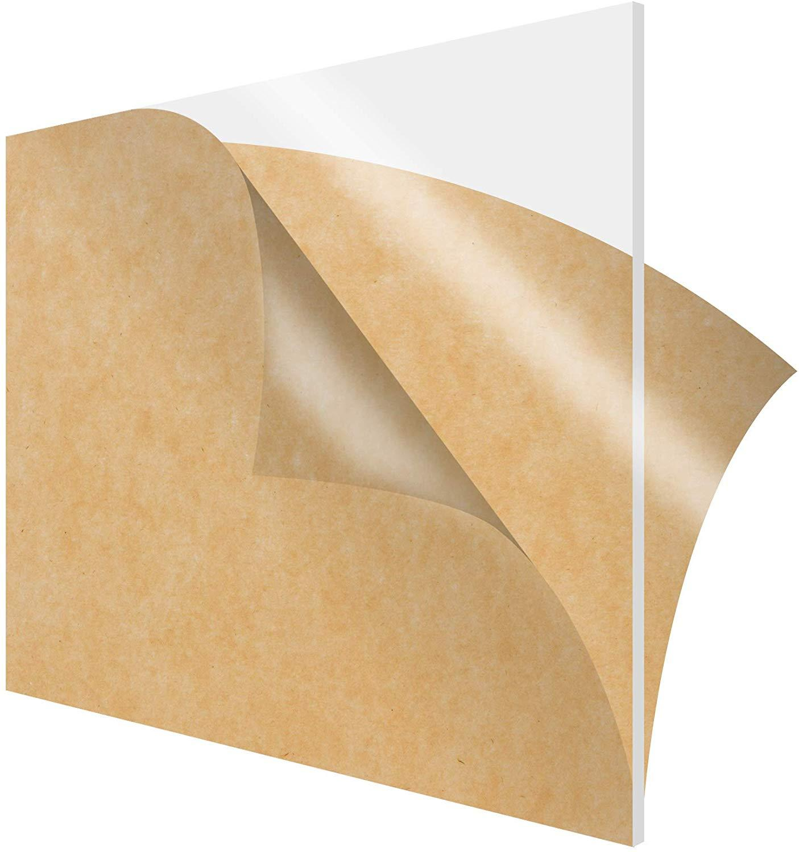 200*200mm Plexiglass Transparent Clear Acrylic Board Plastic Sheet Organic Glass Polymethyl Methacrylate 1mm 3mm 8mm Thickness