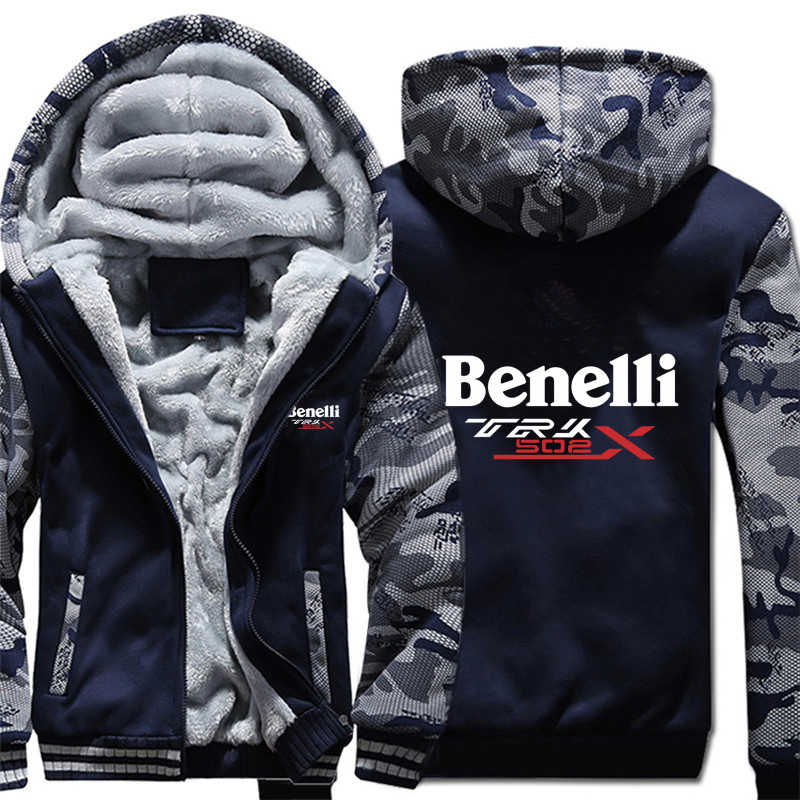 Benelli TRK 502X Hoodies Camouflage hülse Jacke Hoody Zipper Winter Fleece Benelli TRK 502X Sweatshirt