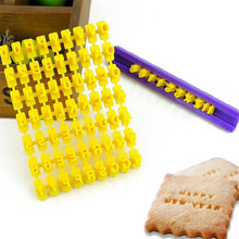Hot New Biscuit Cutter Number Alphabet Fondant Cookie Mould Cake Cutters Decor Baking Molds Home Kitchen Cake Tools