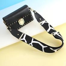 Adjustable Shoulder Straps Leopard Print Strap Leather Wide Shoulder Bag Accessories for Women Replacement Strap Bag Belt цена и фото
