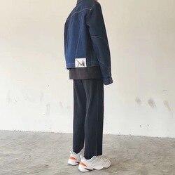 Плиссированные брюки Miyake, черно-белые облегающие тянущиеся брюки для отдыха