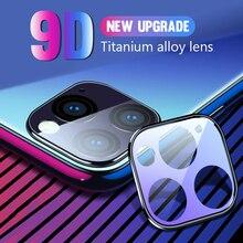 Protector de pantalla de lente de cámara para iPhone Case 11 Pro Max 2019 cubierta de anillo Protector de lente para iPhone 11 Pro Vidrio Templado