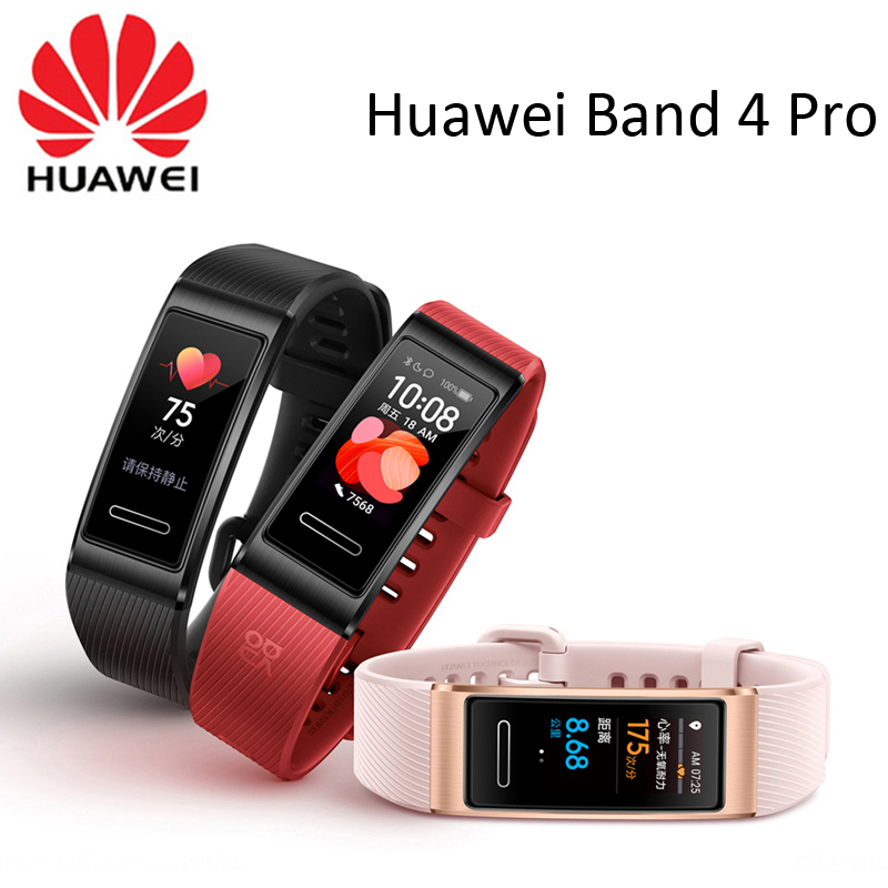 Huawei Band 4 Pro GPS Smart Band Amoled 0.95inch Metal Material Heart Rate Sensor Sleep Wristband|Smart Wristbands| - AliExpress