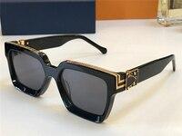 2019 блестящие золотые Летние Стильные брендовые дизайнерские очки с логотипом Liser, ретро мужские солнцезащитные очки wo мужские солнцезащитн...