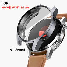 TPU cover Case for HUAWEI watch GT 2 46mm strap band soft Plated All-Around Screen Protector bumper huawei Watch 2 pro/GT2 46 mm