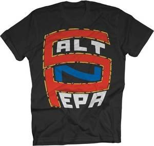 Salt N Pepa - S-N-P Logo - S-M-L-XL-2XL Brand New - Official Men Tee Shirt Tops Short Sleeve Cotton Fitness T-Shirt(China)