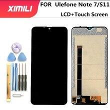 6.1 Inch 100% Nguyên Bản Thử Nghiệm Cho Ulefone Note 7 7P Màn Hình LCD Màn Hình + Cảm Ứng Màn Hình Bộ Số Hóa Thay Thế Cho ulefone S11
