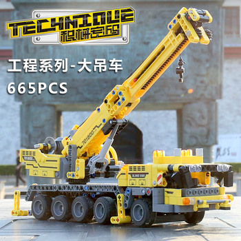 Yeshin 701800 Techinc Toys Compatible With 42009 Mobile Crane MK II Set Assembly Kits Toys Christmas Gift Building Blocks Bricks image